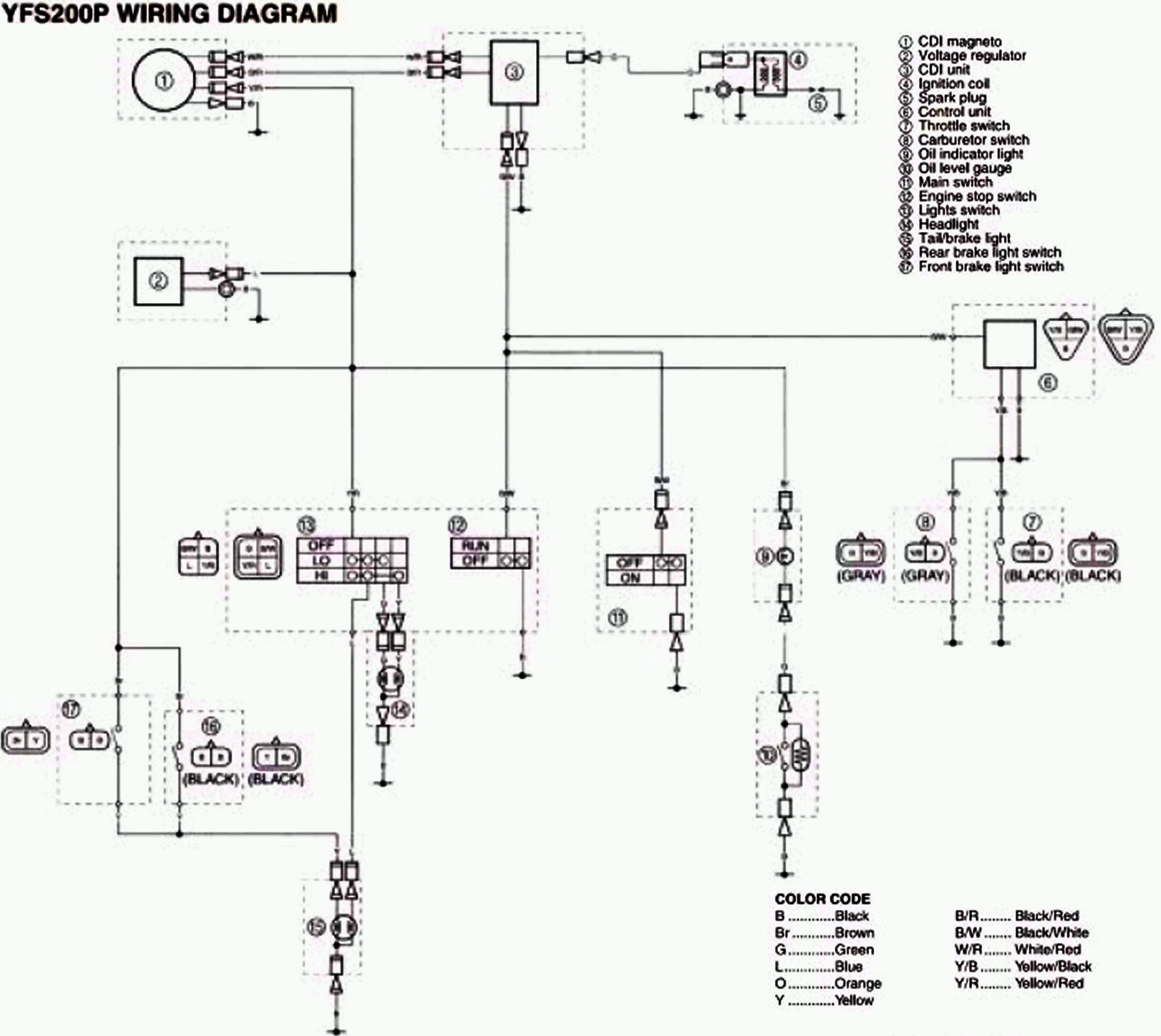 stock wiring diagrams blasterforum com yamaha blaster cdi yamaha blaster headlight wiring diagram