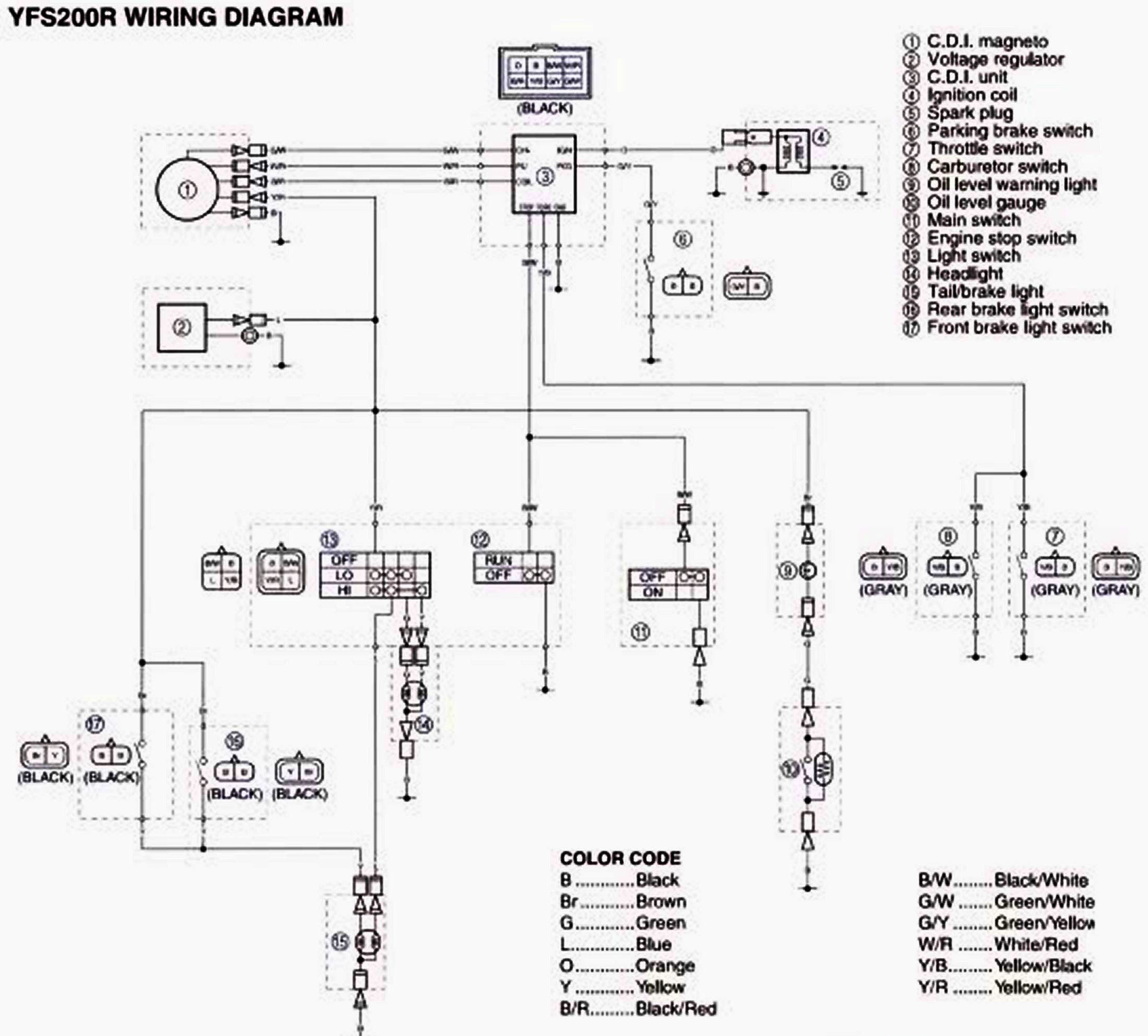 9ED11 2000 Yamaha Warrior Wiring Harness | Wiring LibraryWiring Library