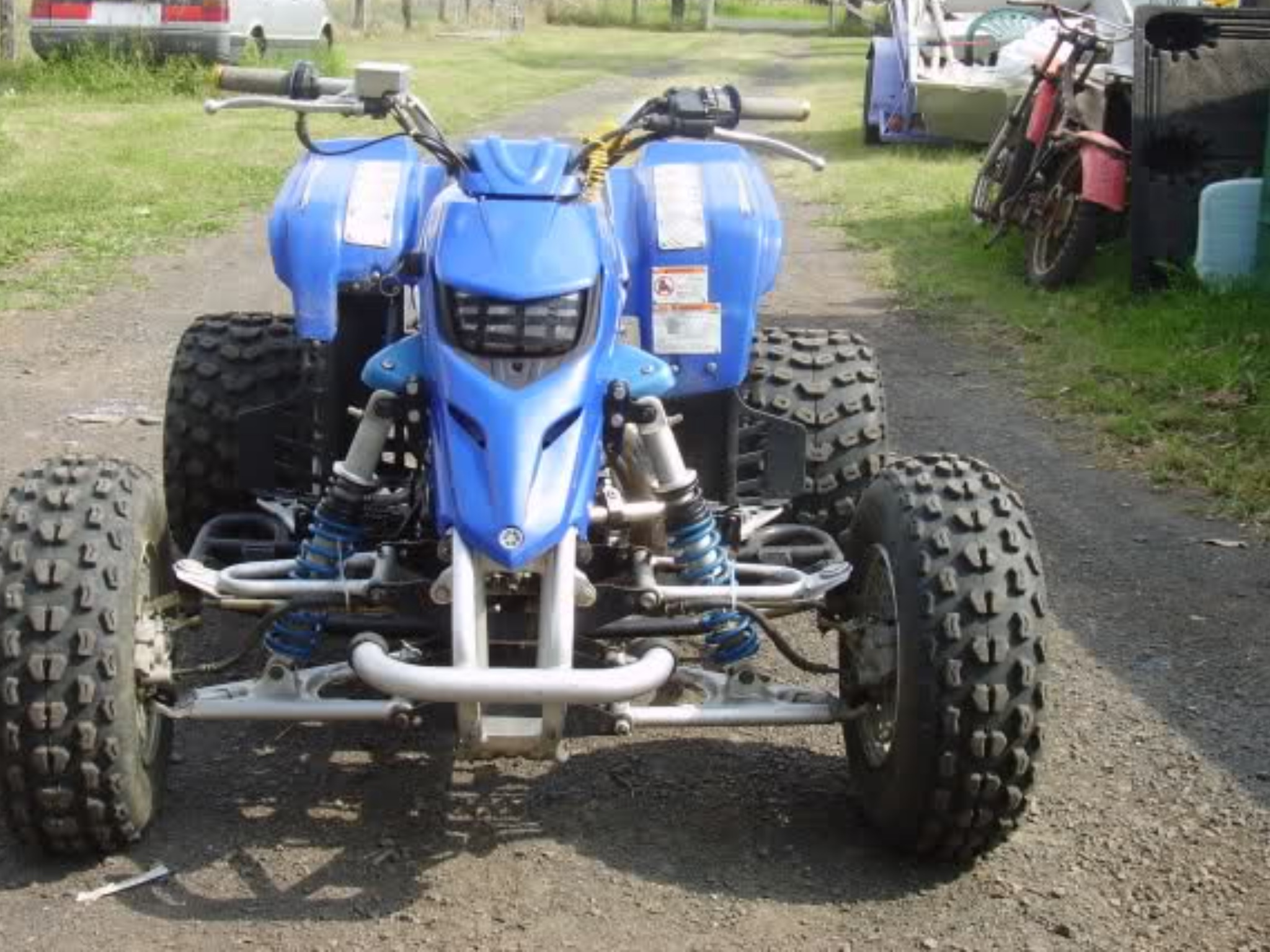 Yamaha Blaster Shocks