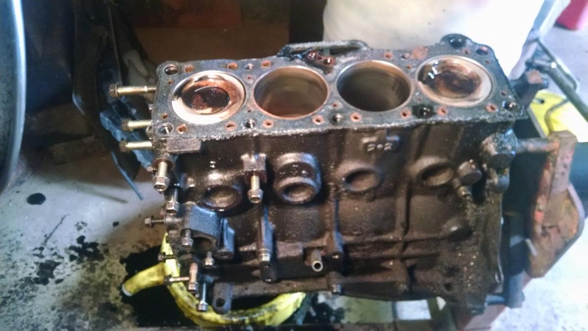 Mazda B2200 Engine rebuild | Blasterforum.com